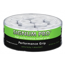 Signum Pro Overgrip Performance 0.6mm weiss 30er Box