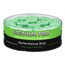 Signum Pro Performance 0.6mm Overgrip 30er Box lime