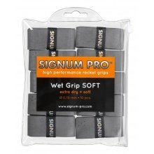 Signum Overgrip Pro Wet Soft 0.70mm grau 10er Clip-Beutel