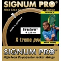 Signum Pro Tennissaite Firestorm gold 12m Set