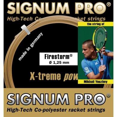 Signum Pro Firestorm gold Tennissaite