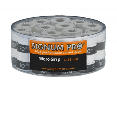 Signum Pro Micro Overgrip 30er weiss