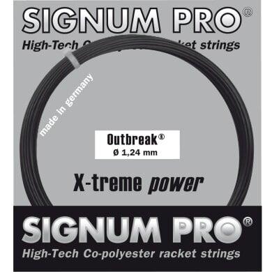 Signum Pro Outbreak anthrazit Tennissaite