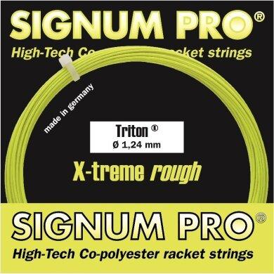 Signum Pro Triton lemon Tennissaite