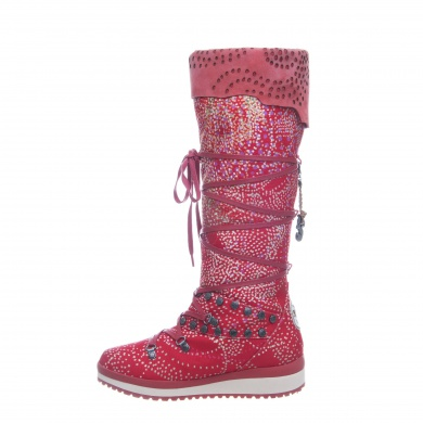 Snoboot Mutant High Braille 2013 rot Winterschuhe Damen