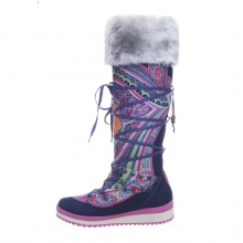 Snoboot Mutant High Tattoo Color 2013 purple Winterschuhe Damen