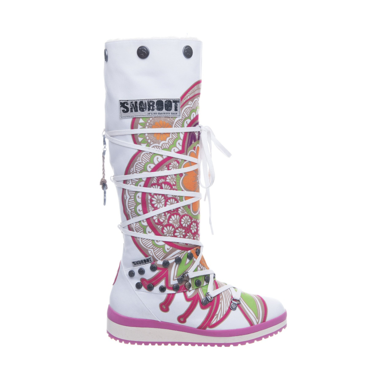 Snoboot Mutant High Tattoo Color 2013 purple Winterschuhe Damen sDupw