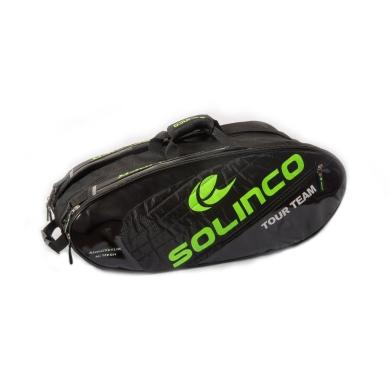 Solinco Racketbag Tour 2016 schwarz/grün 12er
