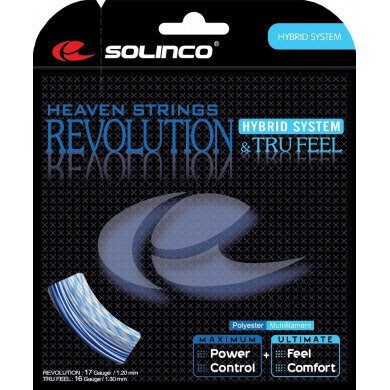 Solinco Hybrid Revolution 17 & Tru Feel 16 Tennissaite