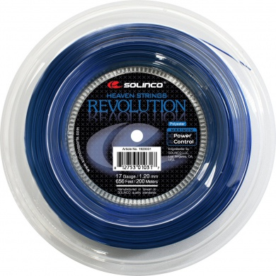 Solinco Revolution blau 200 Meter Rolle