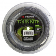 Solinco Tour Bite silber Tennissaite 100m Rolle