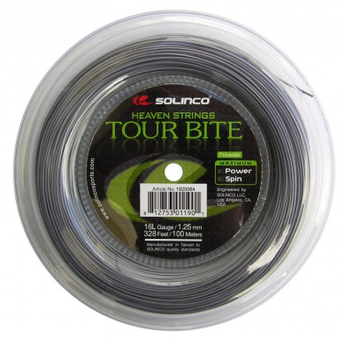 Solinco Tour Bite silber 100 Meter Rolle