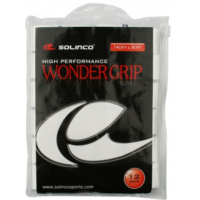 Solinco Wonder Overgrip 12er weiss