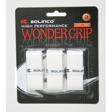 Solinco Wonder Overgrip 3er weiss