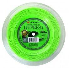 Solinco Tennissaite Hyper G SOFT (Power+Spin) grün 200m Rolle