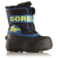 Sorel Snow Commander schwarz/blau Winterschuhe Kinder