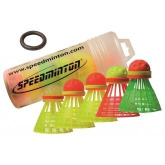 Speedminton ® Speeder Mix 5er