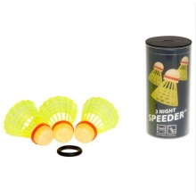 Speedminton ® Speeder Night 3er in Dose