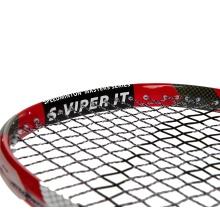 Speedminton® Schläger Viper (Carbon 4 Graphit) - besaitet -