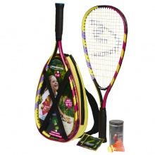 Speedminton ® Set Junior lila/pink/gelb