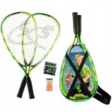Speedminton ® Set Junior blau/grün/gelb