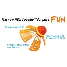 Speedminton® Set Fun - Einsteiger - (2xFun-Schläger, 2xHeli-Speeder, 2x Speedlig
