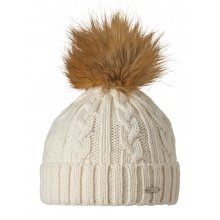 Stöhr Mütze (Pompon) Edis natur Damen 1er