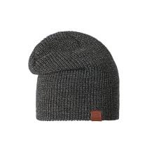 Stöhr Mütze (Beanie) VET schwarz/anthrazit Herren 1er