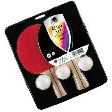 Sunflex Tischtennisschläger Set Midi 2er