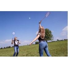 Sunflex Badminton Matchmaker Set (4x Schläger, 1x Netz, 2x Bälle, 1x Tasche)