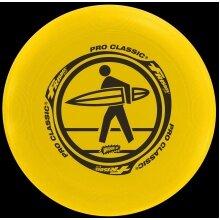 Sunflex Frisbee Pro Classic gelb 1er - perfekt für Strand/Wiese -