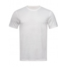 super natural Tshirt Base 140g weiss Herren