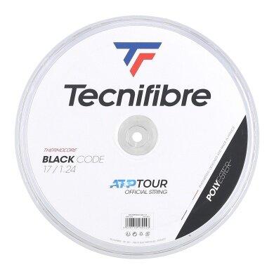 Tecnifibre Black Code schwarz 200 Meter Rolle
