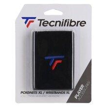 Tecnifibre Schweissband Jumbo New Logo schwarz 1er