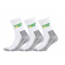 tennistown Socke Performance weiss/grau 3er