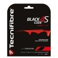 Tecnifibre Black Code 4S 1.25 schwarz Tennissaite