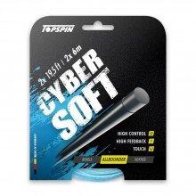 Besaitung mit Topspin Cyber Soft hellblau