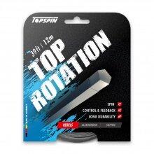 Topspin Tennissaite Top Rotation (Haltbarkeit+Spin) grau 12m Set