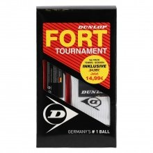 Dunlop Fort Tournament Tennisbälle 4er + 2er Pack Socken