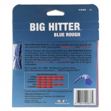 Tourna Big Hitter blue ROUGH Tennissaite