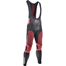 X-Bionic Bike Effektor Power BIB Pant Long schwarz/rot Herren