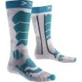 X-Socks Skisocke Control 2.0 2016 grau/türkis Damen