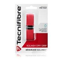 Tecnifibre Squash Dry Grip Basisband rot 1er