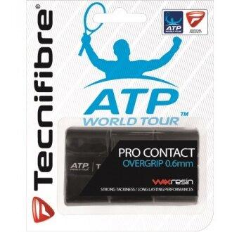 Tecnifibre Pro Contact ATP Overgrip 3er schwarz