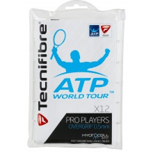 Tecnifibre Pro Players ATP 0.5mm Overgrip 12er weiss