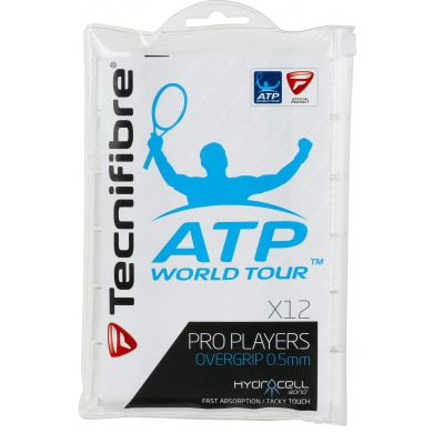 Tecnifibre Pro Players ATP Overgrip 12er weiss