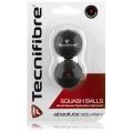 Tecnifibre Squashball (mittel) Blister 2er