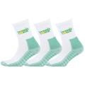 tennistown Socke Performance weiss/grün 3er