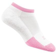 Thorlo Tennissocke Micro Mini thin weiss/pink Damen - 1 Paar