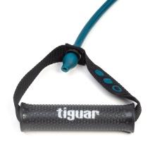 Tiguar Widerstandstrainingband Maxi Tube 2.0 - mittel - blau